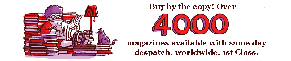 Over 4000 magazines available