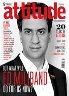 Attitude 243 - Ed Miliband Magazine Issue E Milliband