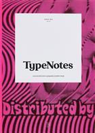 Typenotes Magazine Issue
