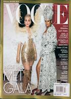 Vogue Usa Best Dressed Magazine Issue MET GALA18