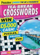 Puzzler Tea Break Crosswords Magazine Issue NO 282