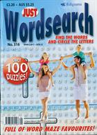 Just Wordsearch Magazine Issue NO 316