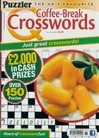 Puzzler Q Coffee Break Crossw Magazine Issue NO 81