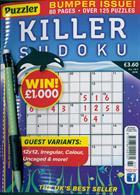 Puzzler Killer Sudoku Magazine Issue NO 161