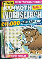 Puzz Mammoth Fam Wordsearch Magazine Issue NO 53