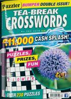Puzzler Tea Break Crosswords Magazine Issue NO 283