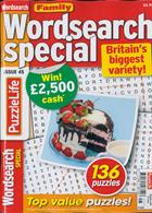 Family Wordsearch Special Magazine Issue NO 45