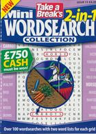 Tab Mini 2 In 1 Wordsearch Magazine Issue NO 13