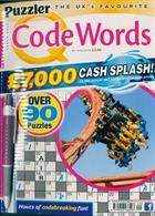 Puzzler Q Code Words Magazine Issue NO 449