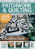 British Patchwork & Quilting Magazine Issue AUG 19