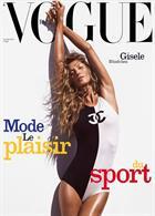 Vogue French Magazine Issue NO 998
