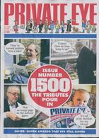 Private Eye  Magazine Issue NO 1500