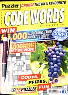Puzzler Codewords Magazine Issue NO 278