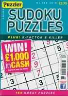 Puzzler Sudoku Puzzles Magazine Issue NO 185