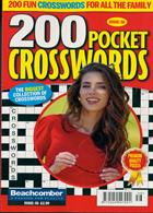 200 Pocket Crosswords Magazine Issue NO 56
