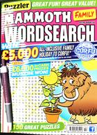 Puzz Mammoth Fam Wordsearch Magazine Issue NO 54