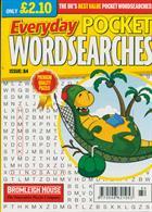 Everyday Pocket Wordsearch Magazine Issue NO 84