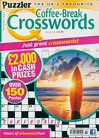 Puzzler Q Coffee Break Crossw Magazine Issue NO 80