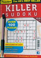 Puzzler Killer Sudoku Magazine Issue NO 162