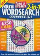 Tab Mini 2 In 1 Wordsearch Magazine Issue NO 14
