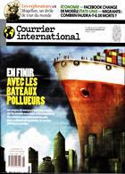 Courrier International Magazine Issue NO 1496