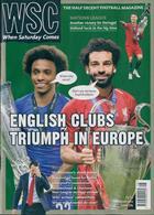 When Saturday Comes Magazine Issue AUG 19