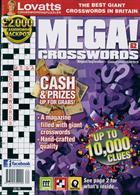Lovatts Mega Crosswords Magazine Issue NO 62