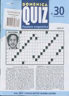 Domenica Quiz Magazine Issue NO 30