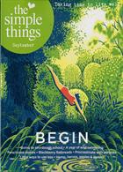 Simple Things Magazine Issue SEP 19