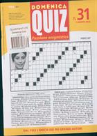 Domenica Quiz Magazine Issue NO 31