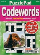 Puzzlelife Ppad Codewords Magazine Issue NO 35