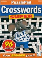 Puzzlelife Crossword Super Magazine Issue NO 15