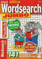 Family Wordsearch Jumbo Magazine Issue NO 291
