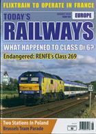 Todays Railways Europe Magazine Issue AUG 19
