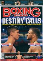 Boxing Monthly Magazine Issue AUG 19
