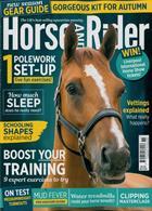 Horse & Rider Magazine Issue NOV 19