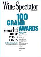 Wine Spectator Magazine Issue GRND AWARD