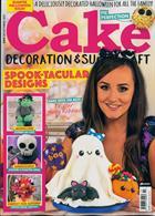 Cake Decoration Sugarcraft Magazine Issue OCT 19