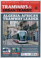 Tramways And Urban Transit Magazine Issue NOV 19