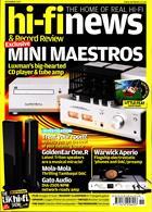 Hi-Fi News Magazine Issue NOV 19