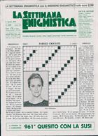 La Settimana Enigmistica Magazine Issue NO 4559