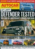 Autocar Magazine Issue 07/08/2019
