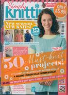 Simply Knitting Magazine Issue NO 189