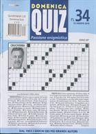 Domenica Quiz Magazine Issue NO 34