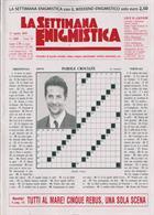 La Settimana Enigmistica Magazine Issue NO 4560
