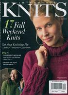 Interweave Knits And Knitscene Magazine Issue FALL 2