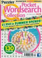 Puzzler Q Pock Wordsearch Magazine Issue NO 200