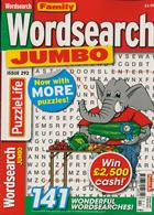 Family Wordsearch Jumbo Magazine Issue NO 292
