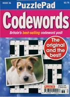 Puzzlelife Ppad Codewords Magazine Issue NO 36