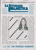 La Settimana Enigmistica Magazine Issue NO 4561